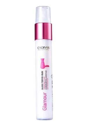 Protetor térmico gloss termo-rubi glamour -  cadiveu professional 30ml