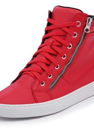 Bota fitness tenehi 158 sintético vermelho