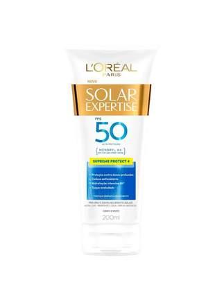 Protetor solar expertise supreme protect 4 fps 50 l'oréal paris 200ml
