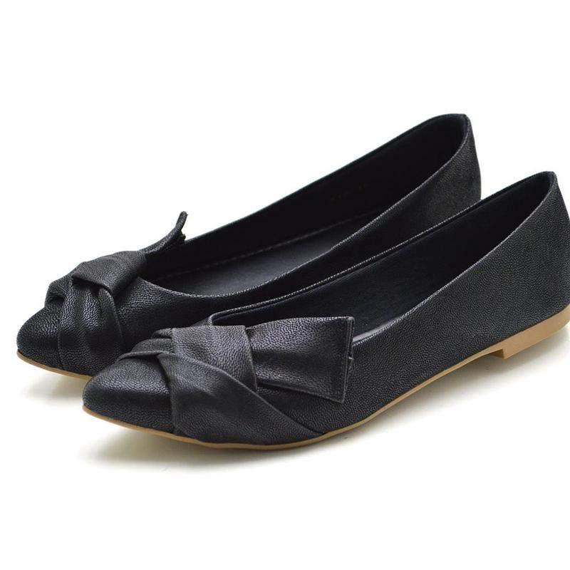 Avalon Calçados / Sapatilha bico fino stefanello 712 nobuck preta