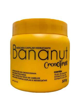 Máscara capilar hidratante bananut 500g