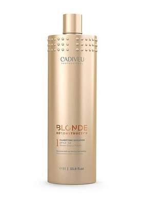 Shampoo clarifying blonde reconstructor cadiveu 1l