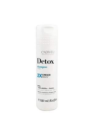 Shampoo detox capilar cadiveu 250ml