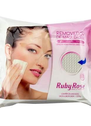 Lenço removedor de maquiagem hb200 ruby rose