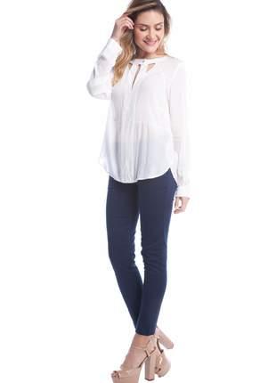 Camisa ralm manga longa
