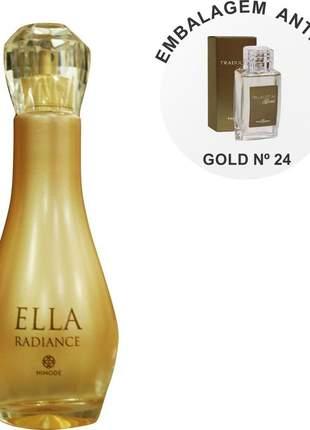 Perfume traduções gold nº 24 jadore -100 ml nova embalagem hinode