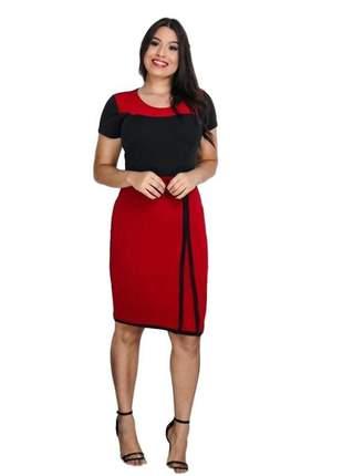 Vestido moda evangélica cristã ref 608