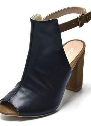 Sandalia salto grosso stefanello 1837 cores