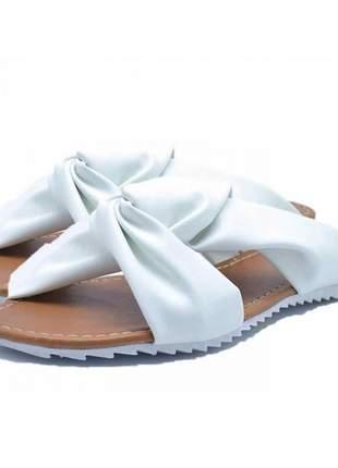 Sandália rasteira trançada stefanello 2103 cores
