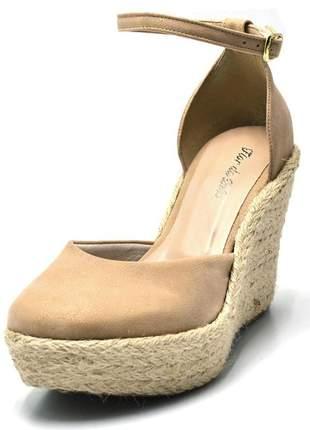 Sandália anabela stefanello 3009 cores