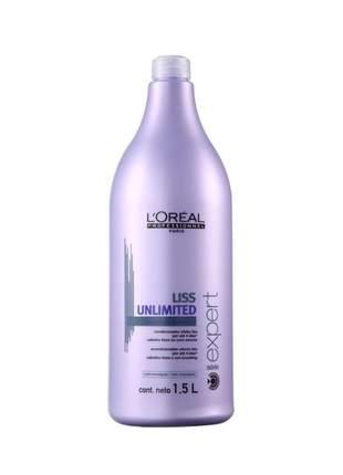 Condicionador serie expert liss unlimited l'oréal professionnel 1500ml