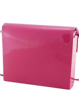 Bolsa petite jolie envelope flap bag feminina lazer original