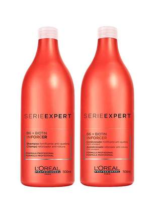 Kit shampoo e condicionador inforcer l'oréal professionnel 1500ml