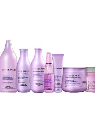 Kit l'oréal liss unlimited linha completa
