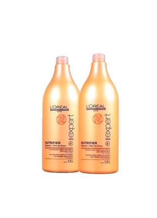 Kit shampoo + condicionador nutrifier l'oréal professionnel