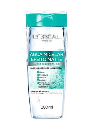 Combo 3 máscara facial preenchedora + água micelar efeito matte 200ml