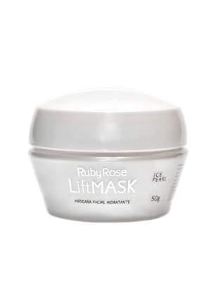 Máscara facial ruby rose ice pearl hidratante e nutritiva 50g
