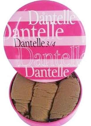 Kit 4 pares de meia 3/4 dantelle demillus