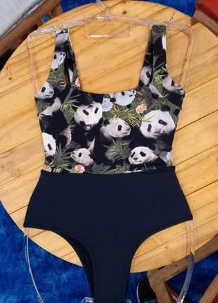 Maiô panda uv50 +