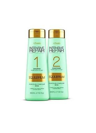 Kit shampoo e condicionador equilibrium triskle 350ml