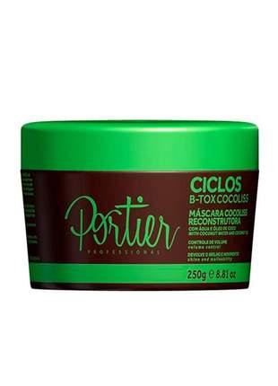 Combo portier 2 b-tox ciclos + b-tox violet + máscara cocoliss