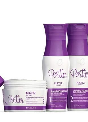 Kit portier matiz violet kit completo