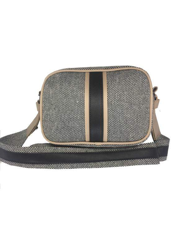 c7ebd5549 Bolsa transversal com textura de palha mevisto preto - R$ 59.99 ...