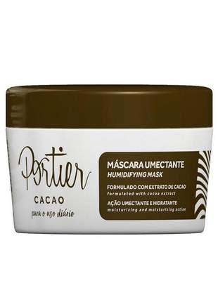 Máscara cacao uso diáro portier