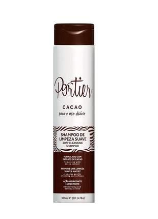 Shampoo cacao uso diário portier