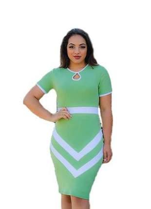 Vestido moda evangélica cristã ref 659