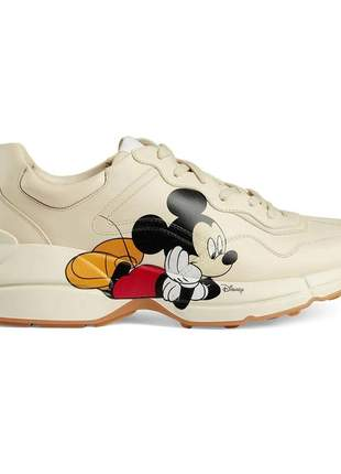 Tênis feminino mickey mouse gucci x disney