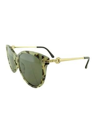 Óculos de sol feminino cp b88 mesclado + estojo brinde