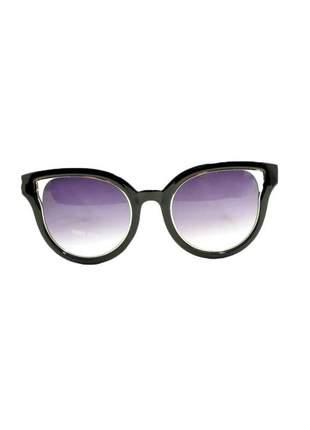 Óculos de sol feminino color people linha ny preto + estojo