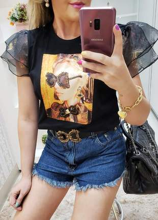 Tee shirt luana coleção aquarela