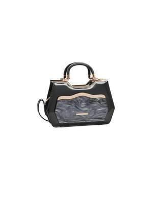 Bolsa chenson glamour marmorizado de mão
