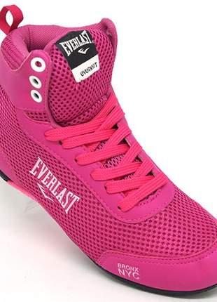 Tênis feminino everlast forceknit rosa
