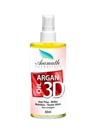 Oléo de argan oil aramath 60ml