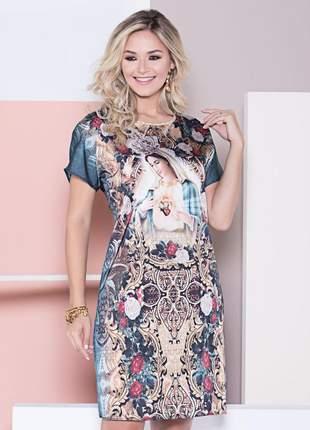 Vestido imaculado coração de maria - coleção ágape