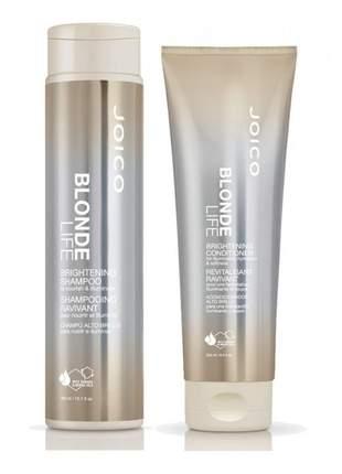 Kit joico shampoo e condicionador blonde life duo