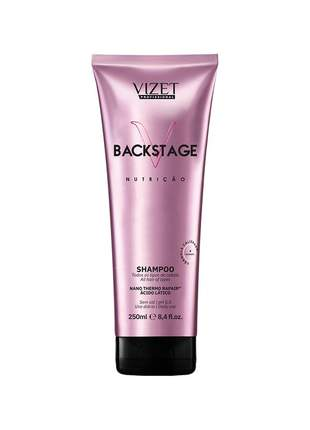 Kit home care backstage nutrição shampoo + máscara vizet