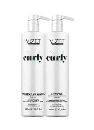 Kit shampoo + leave in curly expertise vizet