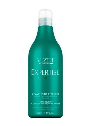 Leave-in fitagem expertise curly vizet 500ml