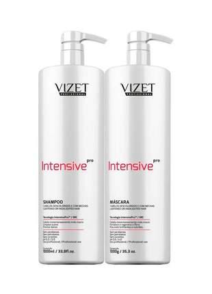 Kit intensive pró home care shampoo + máscara