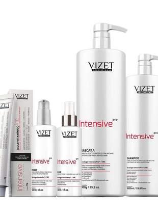 Kit master intensive pro vizet profissional