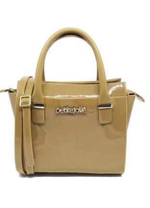 Bolsa petite jolie love bag pj2121 marrom