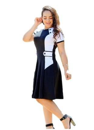Vestido moda evangélica cristã ref 657