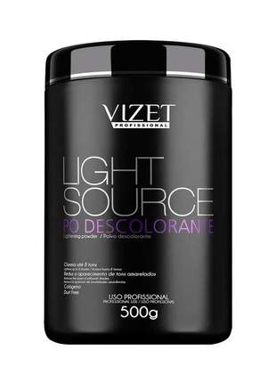 Pó descolorante light source vizet 500g