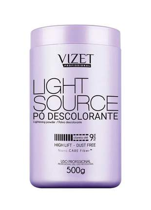 Pó descolorante nano fiber light source 500g