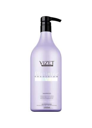 Shampoo platinize precision vizet 1000g