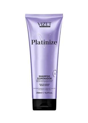 Shampoo platinize precision vizet 250ml